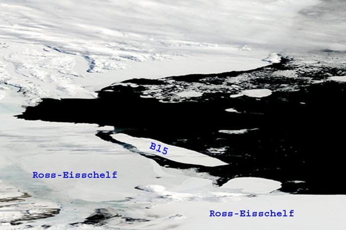 Eisberg--B15