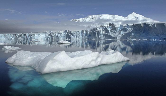 Zuwachs von Eis in der Antarktis