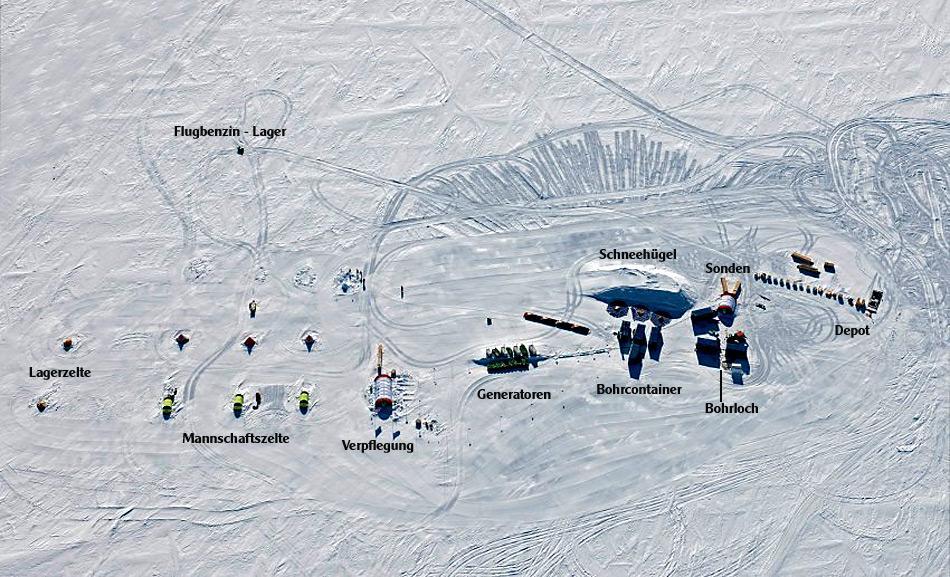 Auf dem Luftbild ist deutlich zu erkennen wie aufwendig das Projekt geplant wurde.