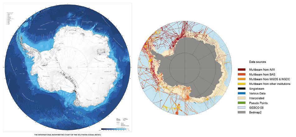 Die neue IBCSO-Antarktiskarte.