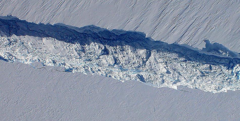 PineIsland Gletscher Riss im Gletscher