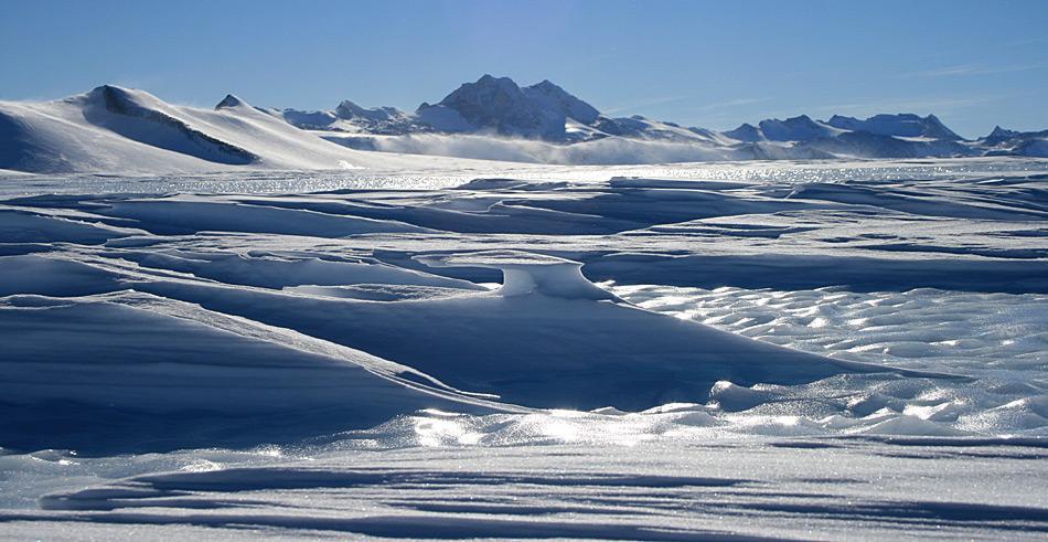 """Das Wilkes Becken in der Ost-Antarktis könnte nach Schätzung der Wissenschaft bis in 5-10'000 Jahre """"ausgelaufen"""