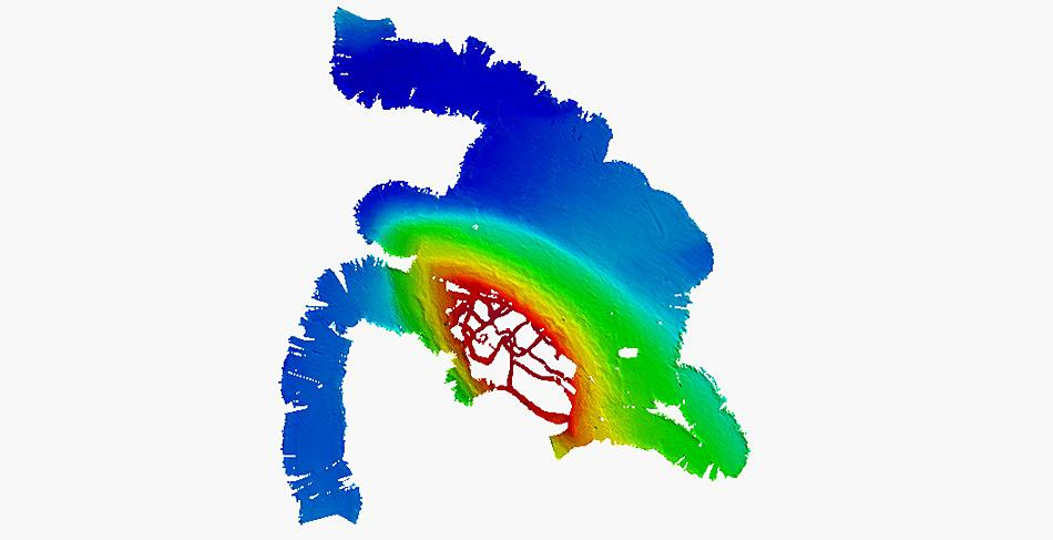 Die Fahrtenaufzeichnung des «Nachtigaller Soal» inspirierte die Crew der Polarstern zu dessen Namensgebung.