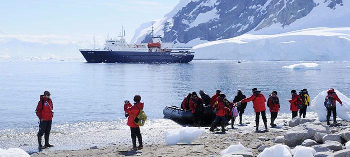 Mit einer Kapazität von 106 Passagiere zählt die «Mv Ortelius» zu den kleinen Expeditionsschiffe, welche die Antarktis besuchen.