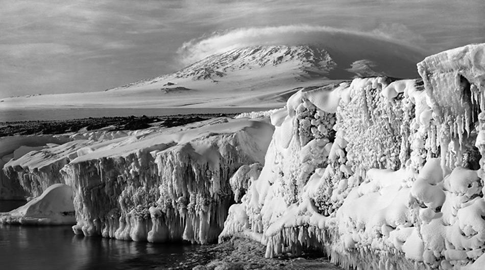 Der Mount Erebus ist der einzige noch aktive Vulkan in der Antarktis