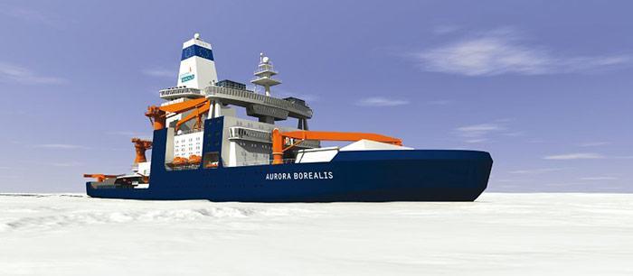 PolarNEWS_20110503_Aurora_Borealis_im_Eis