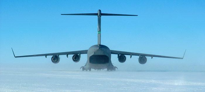 McMurdo C 17 Abflugbereit