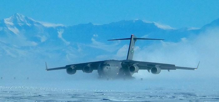 McMurdo C 17 Landung