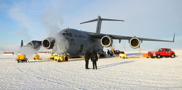 McMurdo C 17 Wartung