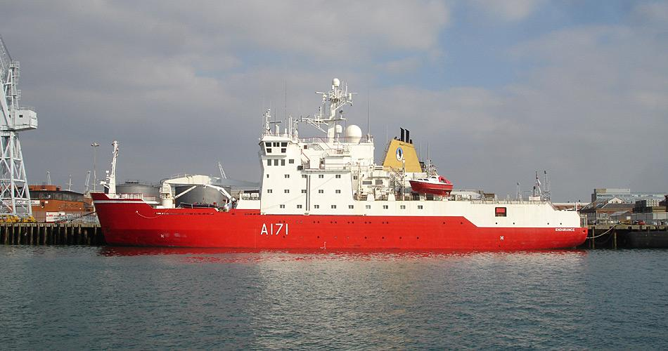 Der neue Eisbrecher soll den 1990 gebaute und nun in die Jahre gekommene Eisbrecher «HMS Endurance» ablösen.