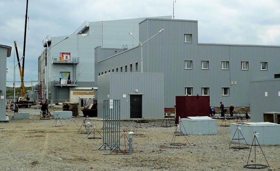 Die Anlage in Saida Bay ist die grösste ihrer Art in der russischen Arktis. Sie kann bis zu 155 Kompartimente und Reaktorteile lagern und es besteht die Hoffnung, dass nicht nur russische Nuklearabfälle dort liegen werden, sondern international gebraucht wird. Bild: Thomas Nilsen