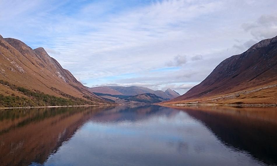 Der schottische Fjord Loch Etive, Bild: SAMS / David Pond