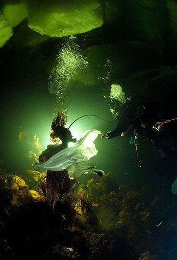 Unterwasser-Filmaufmahmen