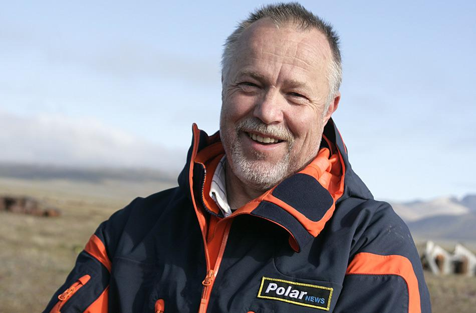 Der Traum der Nordostpassage mit dem Eisbrecher «Kapitan Khlebnikov» geht für Heiner Kubny von PolarNEWS endlich in Erfüllung.