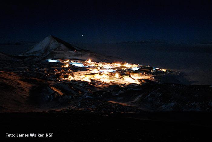 Polarnacht-Antarktis