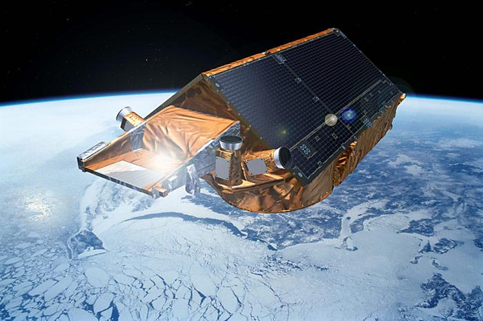Satellite-Cryosat