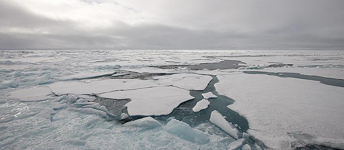 Eisverlust in der Arktis