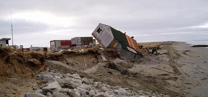 Permafrost Schäden