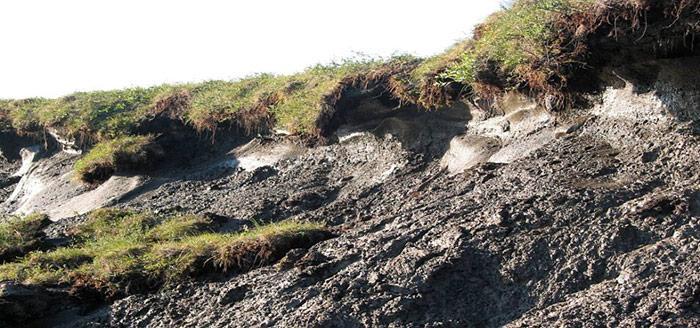 Permafrost auftauen