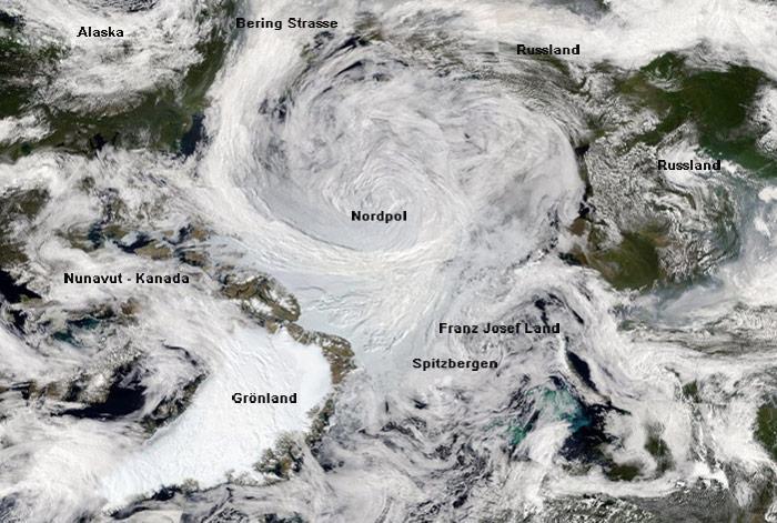 Das VIIRS (Visible Infrared Imaging Radiometer Suite) an Bord des Satelliten Suomi NPP hatte bereits am 07. August 2012 diese Aufnahmen gemacht. Das Bild zeigt die Ausmasse des Tiefdruckgebietes.