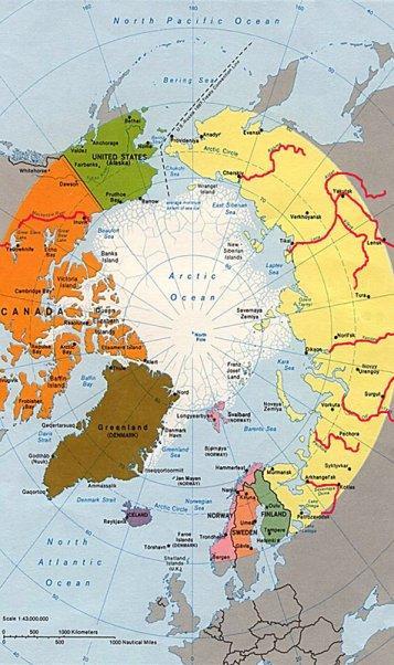 Fluesse in der arktischen Region kopie