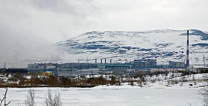 Grosse Schadstoffschleudern sind Industrieanlagen im Norden Russlands wie das Nickelwerk in Norilsk.