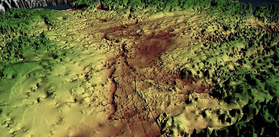 Mit Radartechnik haben Forscher unter dem Packeis Grönlands eine Schlucht entdeckt, grösser als der Grand Canyon. Durch sie fliesst vermutlich das Schmelzwasser in den Ozean.