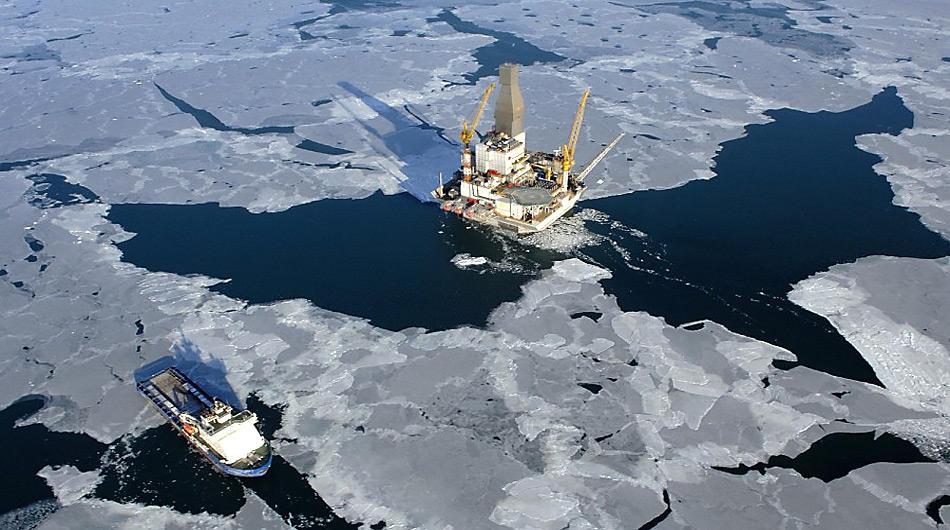 Nicht ganz risikolos ist das Betreiben einer Ölplattform in der Arktis.