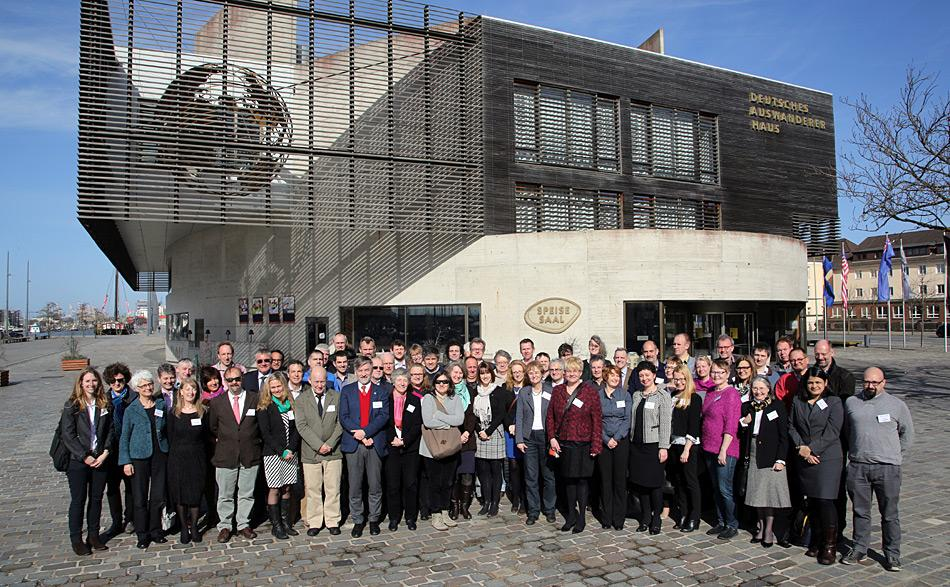 U-PolarNet Kick Off Meeting im Auswandererhaus Bremerhaven am 10. März 2015. Foto: Alfred-Wegener-Institut