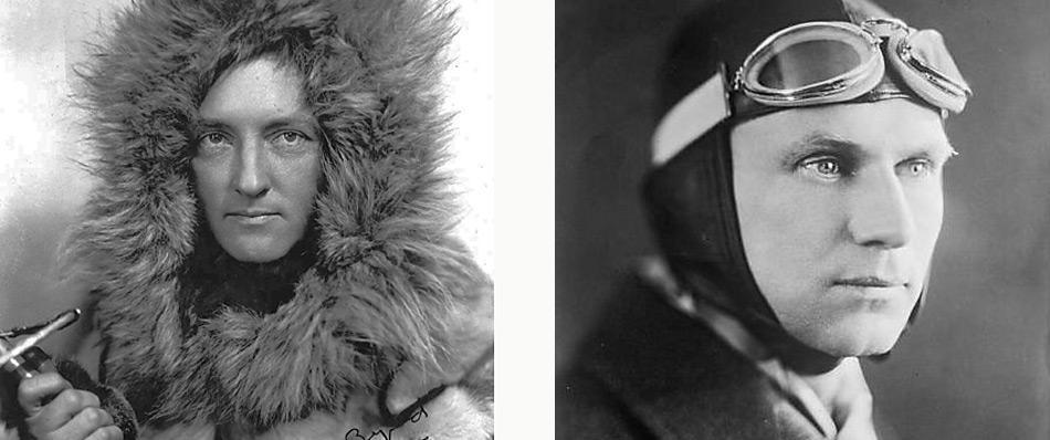 Byrd flog am 9. Mai 1926 gemeinsam mit Floyd Bennett als erster mir einer dreimotorigen Fokker über den Nordpol. Gestartet waren die beiden in Ny-Ålesund an der Kings Bai auf Spitzbergen, wo sie auch wieder landeten.