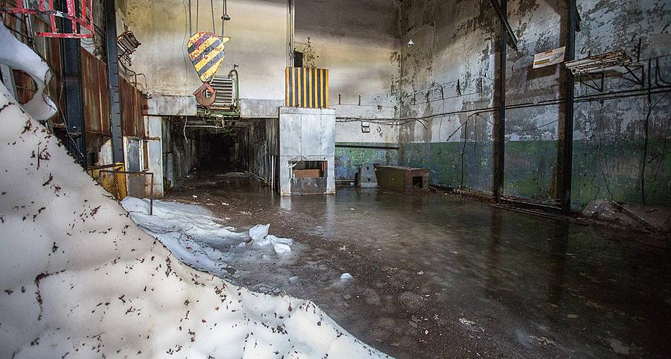 Wo früher heikle Fracht umgeladen wurde liegt heute nur noch Schutt. Foto: Alexander Belenkiy