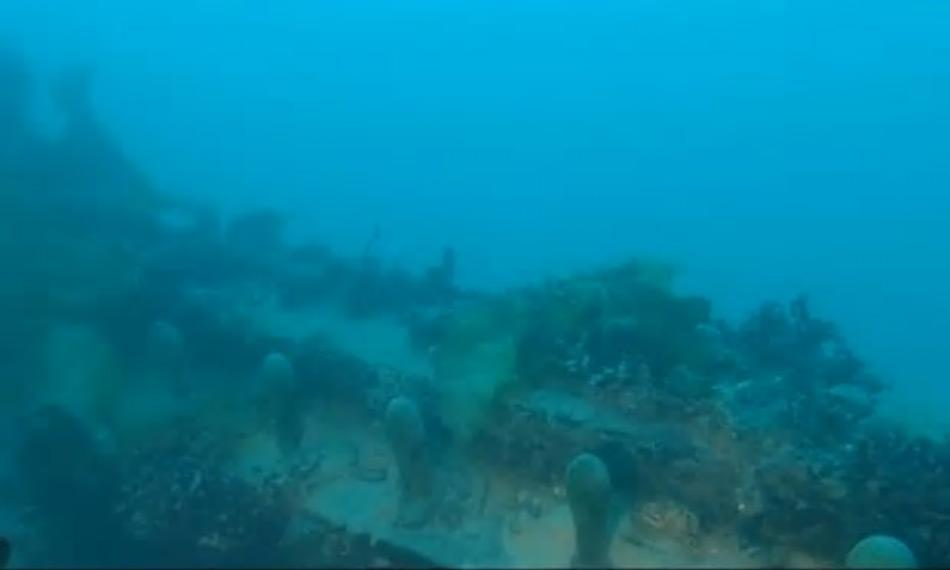 Eines der Aussendecks der HMS Terror. Das Schiff ist in einem sehr guten Zustand und die Wissenschaftler hoffen mehr über das Schicksal der Franklin-Expedition zu lernen. Bild: Arctic Research Foundation