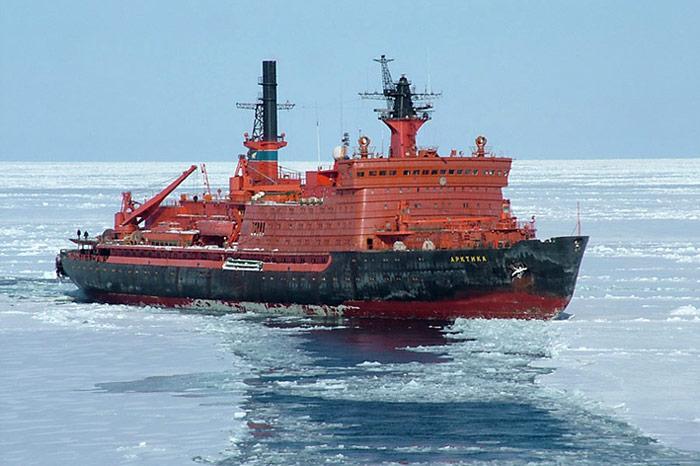 Eisbrecher-Arktika