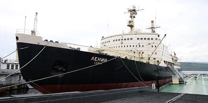 Einst Stolz der russischen Eisbrecherflotte, steht die «Lenin» heute als Museum und Konferenzzentrum zur Verfügung