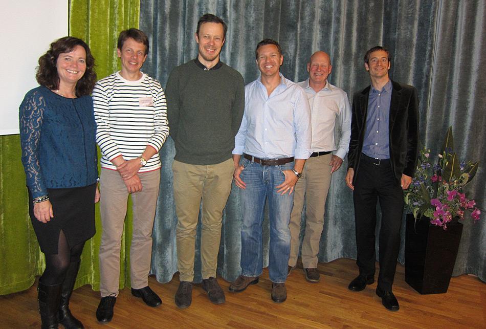 Der Geschäftvorstand der AECO (von links nach rechts) besteht aus Frygg Jørgensen, Troels Jacobsen, Jørn Henriksen, Conrad Combrink, Bill Evans und Ilja Leo Lang. Bild: Frygg Jørgensen