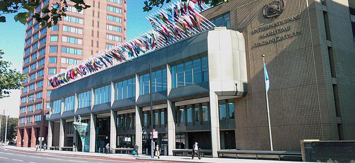 Hauptsitz der IMO
