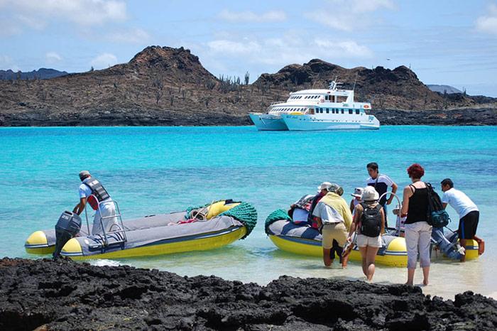 Anlandung-Galapagos