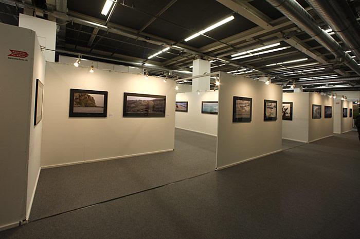 Zu sehen waren über 100 Bilder der Arktis und Antarktis.