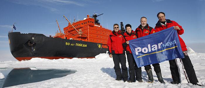 Mit 75'000 PS mit dem stärksten Eisbrecher der Welt zum Nordpol.