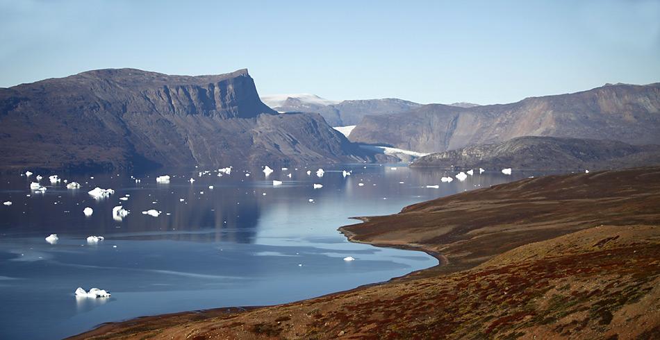 Selten besucht – die Küste von Ostgrönland