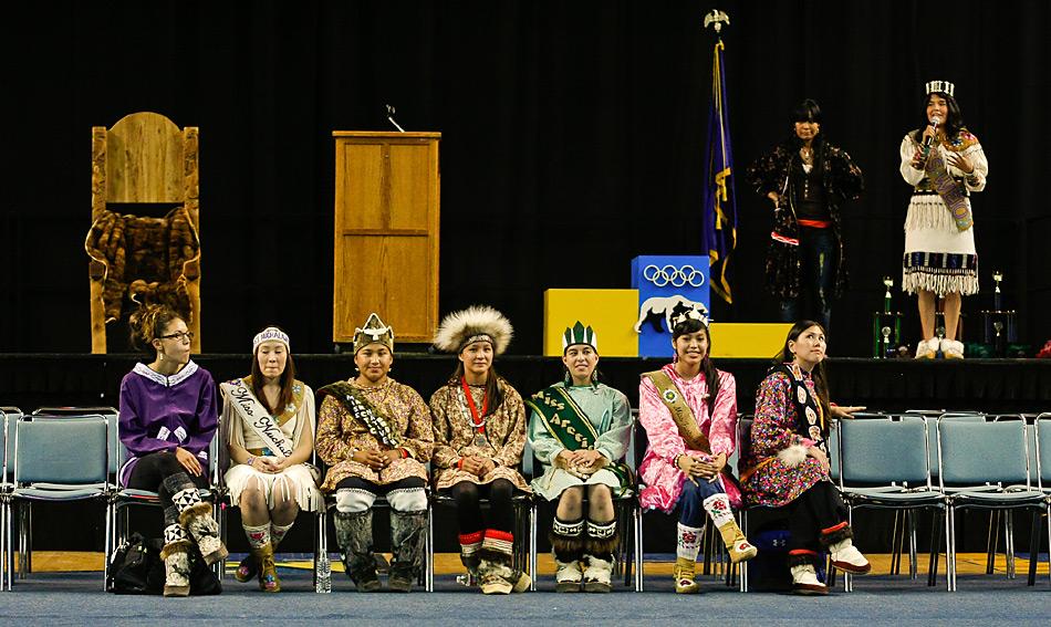 Neben den Wettkämpfen werden auch die Misswahlen durchgeführt.