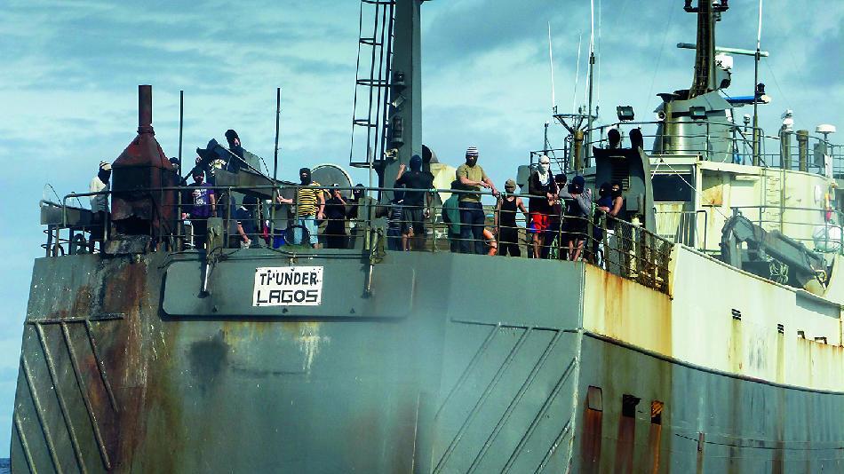 Über Monate verfolgte das Schiff von Sea Shepherd den Trawler «Thunder».